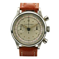 PERREGAUX Chronograph Stainless Steel 1950s ($200-500) - Svpply