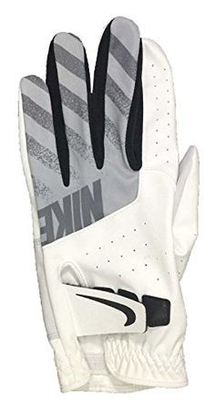 ba3adcb379533 Nike Tech Golf Gloves 2017 Regular White black wolf Gray Fit Right Hand X- large for sale online