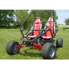 GrandDaddy Full Suspenion Two Seat Go Kart Plans Build A Go Kart, Diy Go Kart, Quad, Kart Cross, Go Kart Parts, Team Activities, Karting, Build Your Own, Colorful Pictures