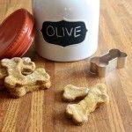 Homemade Dog Treats | My Baking Addiction~sweet potato dog treats, peanut butter pumpkin dog treats, and apple carrot dog treats