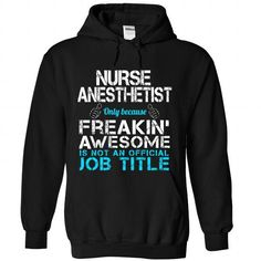 Nurse Anesthetist - #printed tee #sweater hoodie. TAKE IT => https://www.sunfrog.com/Funny/Nurse-Anesthetist-9451-Black-Hoodie.html?68278