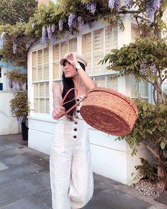 Home Audacious Original Straw Bag Pure Handmade Bamboo Rattan Weave Woman Handbags Vintage Brass Lock Buckle Envelope Clutch Cover Bags Matching In Colour