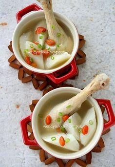 Chinese Yam Chicken Soup