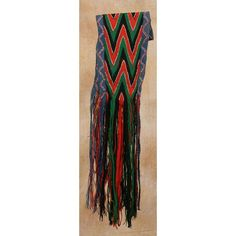 Osage Finger Woven Sash | Lots | Auction in Santa Fe
