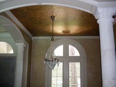 From Faux Fabulous: More beautiful ceilings