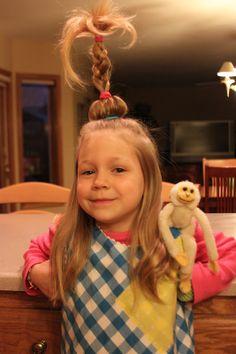 Loo Hoo Hair | Literacy Week Costume Ideas