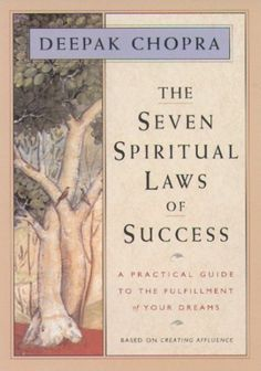 The Seven Spiritual Laws of Success: A Practical Guide to the Fulfillment of Your Dreams: http://www.amazon.com/The-Seven-Spiritual-Laws-Success/dp/1878424114/?tag=pauwsut-20 | Love anything Deepak, was recently visiting my mom and read this in a couple of days. She got it in 1998 and it was published in 1994, and Deepak had online presence THEN! Amazzz #deepakchopra #growth #books #wisdom