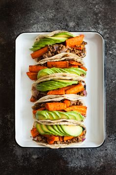 Cumin Roasted Carrot and Lentil Tacos   The Full Helping
