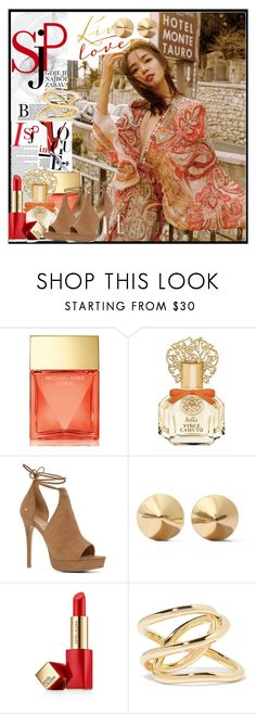 """🍁🍁Fashion 🍁🍁"" by mmsbeg ❤ liked on Polyvore featuring Michael Kors, Vince Camuto, ALDO, Eddie Borgo, Estée Lauder and Jennifer Fisher"