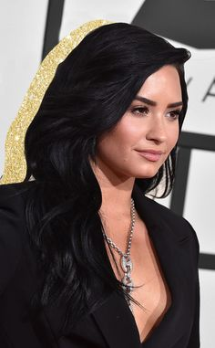 Demi Lovato from Best Beauty at the 2016 Grammys | E! Online