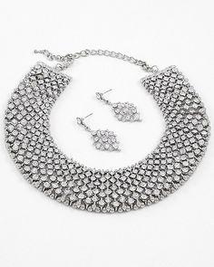 Empress Necklace & Earring Set $48