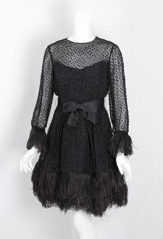 Mollie Parnis mini dress