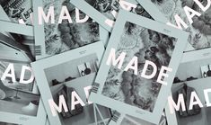 MADE Quarterly, Issue 01 cover.