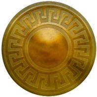 Greek Key Fret Button