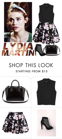 """""""Lydia Martin"""" by lalalasprinkles ❤ liked on Polyvore featuring Givenchy, Monki and Missguided"""