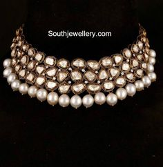 Polki Diamond Choker photo