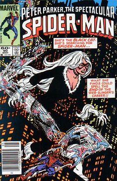 Peter Parker, The Spectacular Spider-Man # 90 by Al Milgrom