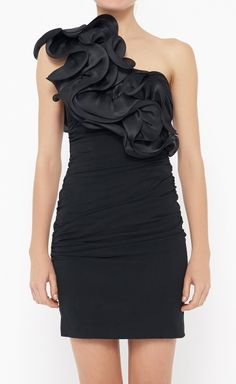 Notte by Marchesa Black Dress