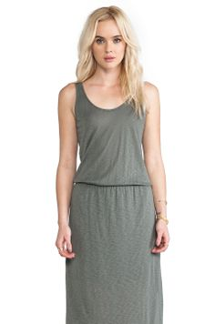 Splendid Maxi Dress in Olive Green from REVOLVEclothing