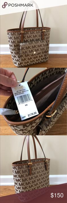 NEW Michael Kors Handbag Brand New Michael Kors handbag. Neutral colors make this bag perfect for any outfit.  Inside compartments are very practical for staying organized.  OFFERS ACCEPTED  MICHAEL Michael Kors Bags Shoulder Bags