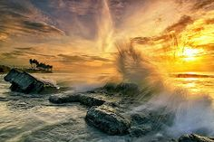 Morning Wave by Agoes Antara -  Click on the image to enlarge.