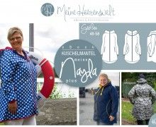 # 27 eBook - meine NAYLA plus - Mantel - Größe 48-58 Plus Size Sewing Patterns, Clothing Patterns, Sewing Clothes, Parka, Ebooks, Curvy, Family Guy, Zippers, Coats