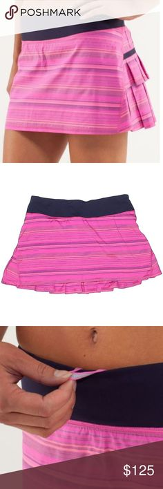9a5186f4fd3 I just added this listing on Poshmark: Lululemon Run: Pace Setter Skirt Pow  Pink