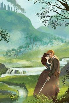 outlander, illustration