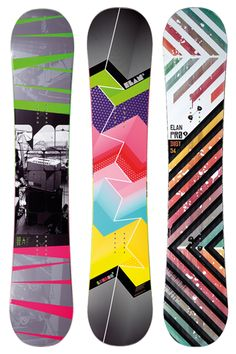 Elan started out making skis right back in 1945. The end of WWII was a weird time to start a leisure sports factory, but hey, it worked for Elan. They started producing snowboards in 1987