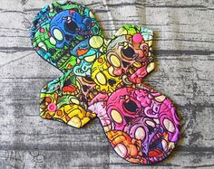 23.5cm Cloth Pad - MODERATE Absorbency - Zombies