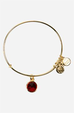 Alex and Ani Birthstone Expandable Wire Bangle available at #Nordstrom....on my wish list for christmas