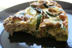 Tuna and cougertes fritata by Luz Mendoza Patterns, via Flickr