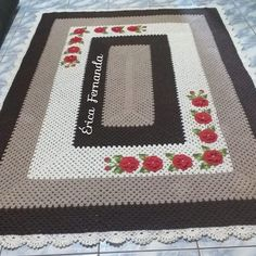 Afghan Crochet Patterns, Floor Mats, Maya, Garland, Clip Art, Rose, Home Decor, Colorful Rugs, Crochet Rug Patterns