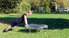 Übungsbeispiele Kraft- und Ausdauertraining auf dem bellicon® Trampolin