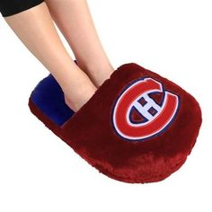 Montreal Canadians Team Foot Pillow