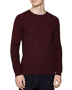 Reiss Carnsdale Lightweight Shirt In Bordeaux Reiss, Bordeaux, Mens Fashion, Shirt Men, Sweaters, Mens Tops, Shopping, Clothes, Collection