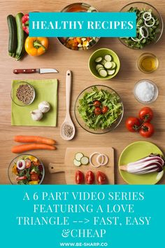 A curated video series with amazing recipes that are all easy, budget friendly and healthy! Easy Healthy Recipes, Whole Food Recipes, Easy Budget, Thing 1, Vegetarian Options, Cheap Meals, Plant Based Diet, Amazing Recipes, Food Videos
