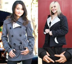 Super expensive, but probably the most stylish armored jacket out there for women.... $260 from GoGo Gear