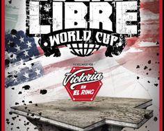 Cartel de Lucha Libre World Cup / Foto cortesía de Lucha Libre Triple A.