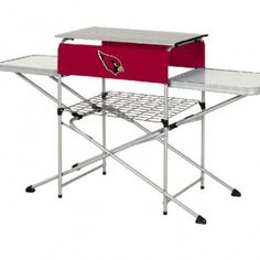 Arizona Cardinals 101 Holiday Gift Ideas: Arizona Cardinals Tailgate Table $140.00