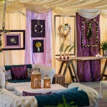Chill Out Area Set Up In Carfraemills Marquee Great Idea For A Wedding