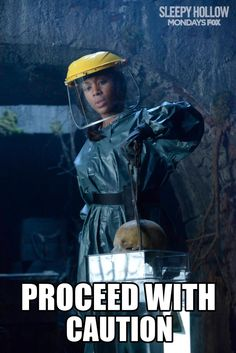 "Nichole BeHarie as Abbie Mills from the TV Show ""Sleepy Hollow""."