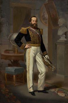 Victor Meirelles, Dom Pedro II,1864, óleo sobre tela, 252 x 165 cm, Acervo MASP.