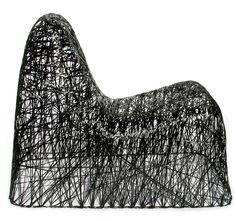 The Random Chair by Bertjan Pot - Super-light chair made of carbon fibre