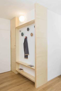 Plywood apartment - studio wok Decoration Entree, Plywood Furniture, Plywood Floors, Kid Furniture, Furniture Removal, Modern Furniture, Furniture Design, Room Of One's Own, Futuristic Furniture