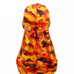 deeb7f4da007bc Camouflage Print Silky Durags For 360 Degree Waves