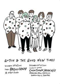長場 雄 : GOTCH & THE GOOD NEW TIMES