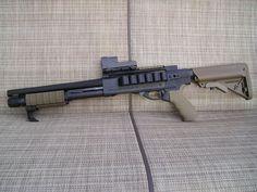 Remington 870 custom shotgun #Survival #Preppers