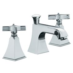 KOHLER�Memoirs Polished Chrome 2-Handle Widespread WaterSense Bathroom Sink Faucet (Drain Included)