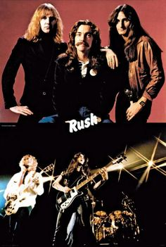 Rush ... this poster was in my bedroom throughout high school!
